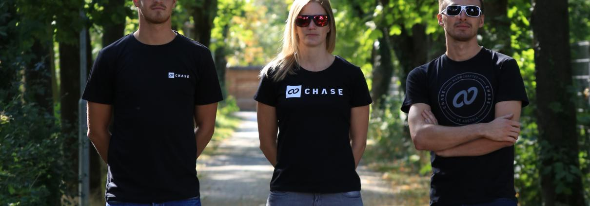 Chase Male T-Shirt Black