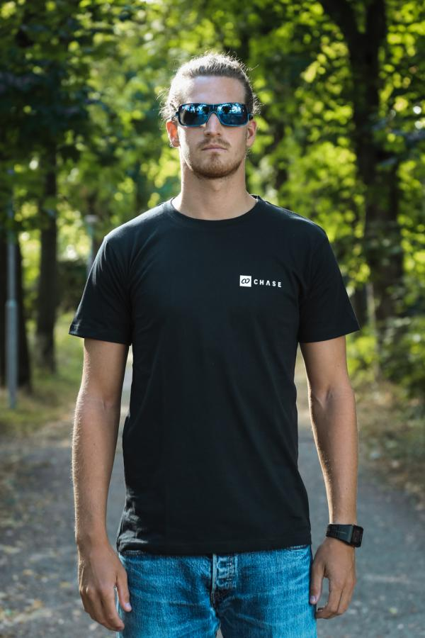 Chase Male T-Shirt Black